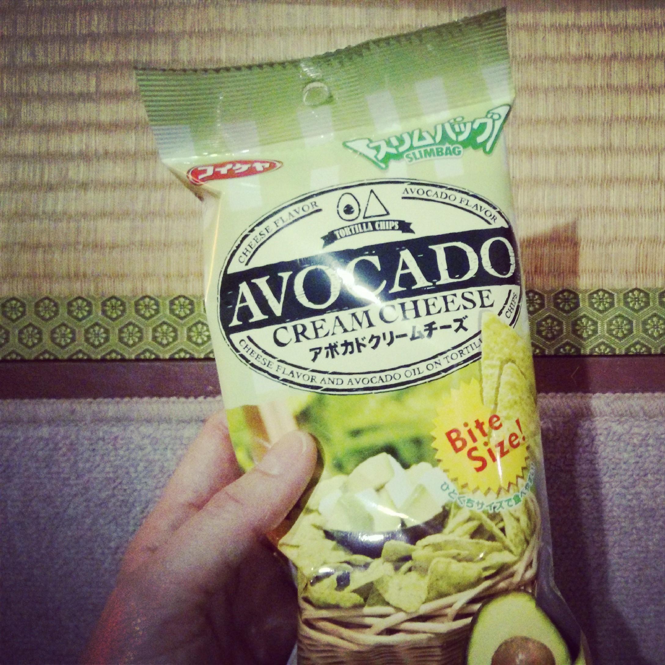 avocado creamcheese nom